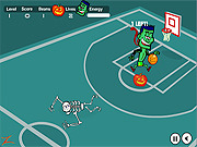 Play Spooky hoops Game