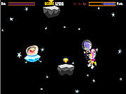 Play Puffygirls in space Game