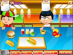 Fast Food Rush game