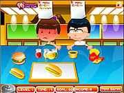Play Fast food rush Game
