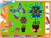 Coloring Picture Butterfly game