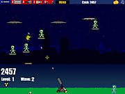 Play Alien paratroopers Game
