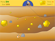 Play Gold miner Game