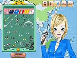 Weather Girl Make Up Game game