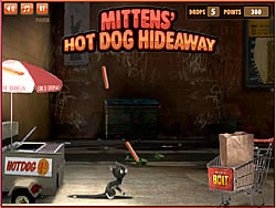 Mittens' Hot Dog Hideaway game