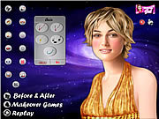 Play Keira knightley celebrity makeover Game