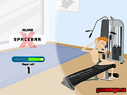Ultimate Douchebag Workout game