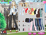 Play First interview dress up Game
