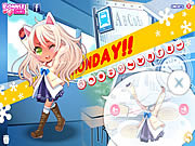 Play Monday dress up Game