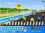Play Bike finish line hidden numbers Game