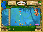 Play Tarzan coconut run Game