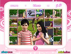 เล่นเกมฟรี Sims Mix-Up