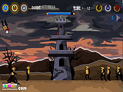 Witch Castle Defence game