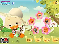 My Lovely Duck Dress Up game