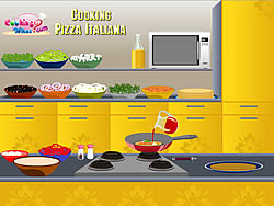 Cooking Pizza Italiana game