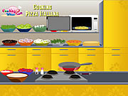Play Cooking pizza italiana Game