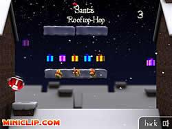 Gioca gratuitamente a Santa's Rooftop-Hop