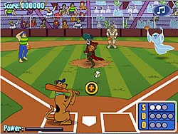 Scoby Doo's MVP Baseball Slam game