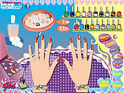 Play Wedding nail makeover Game