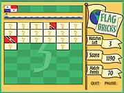 Flag Bricks game