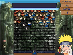 Naruto Bubbles game