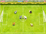 Play Pet soccer Game