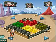 Bedrock Bust-a-Boulder game