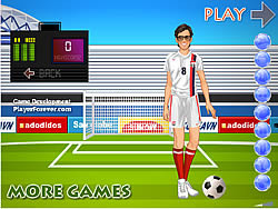 Jogar jogo grátis Clint Dempsey Kicker