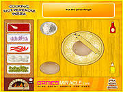 Play Cooking hot peperoni pizza Game