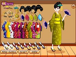 Kimono Style game