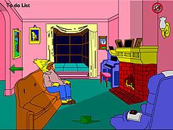 Играть бесплатно в игру The Simpsons Home Interactive