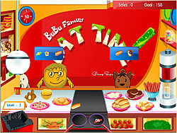Bubu Family - Eat Time game