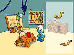 Permainan The Smurfs - Handy's Car