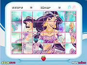 Play Princess jasmine rotate puzzle Game