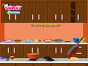 Play Cooking spaghetti Game