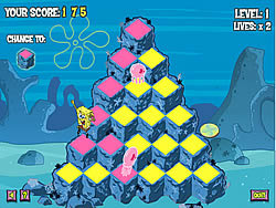 Gioca gratuitamente a Sponge Bob Square Pants: Phyramid Peril