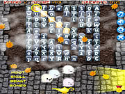 Play Halloween word dig Game
