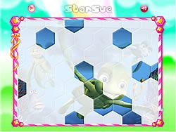Permainan Sammy Hexagon Puzzle