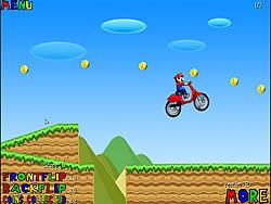 Mario Bros Motobike game