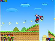 Play Mario bros motobike Game