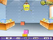 Play Spongebob square pants cheesew dropper Game