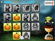 Play Halloween pairs Game