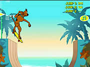 Scooby Doo's Big Air game