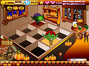 Play Halloween cafe Game
