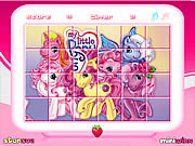 Play My little pony rotate the puzzle Game
