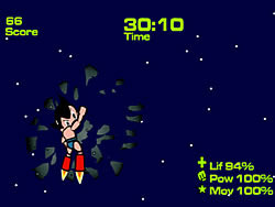 Astroboy vs One Bad Storm game