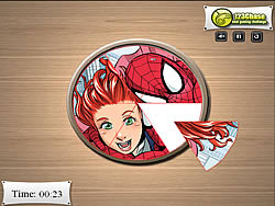 Играть бесплатно в игру Pic Tart - Spiderman