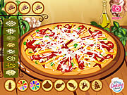 Play Delicious pizza game Game