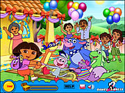Play Treasure hunt dora Game