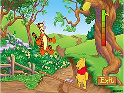 Pooh And Tigger's Hunny Jump game